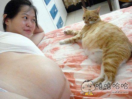 这是孕妇间的交流