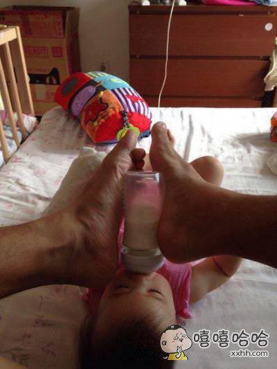 爸爸,你的手呢