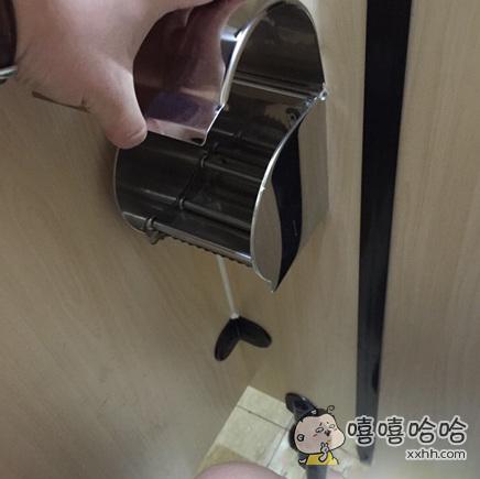 你们城里人上厕所都不为自己带纸的?