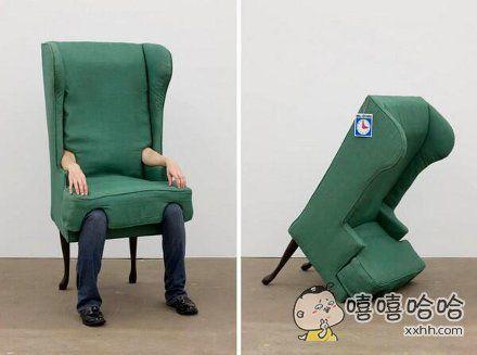 真·人间椅子!