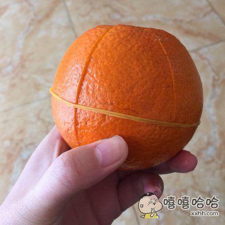 第一次见到这么送橙子的,我给满分