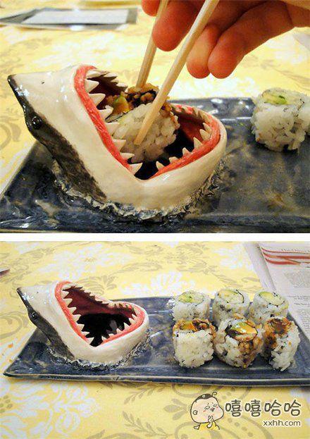 馋死那只满嘴酱油的鲨鱼了~