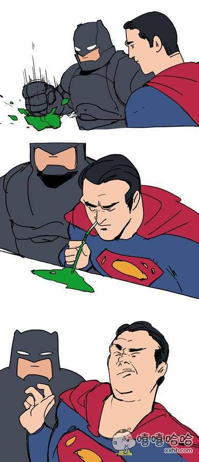 没想到你是这样的超人。