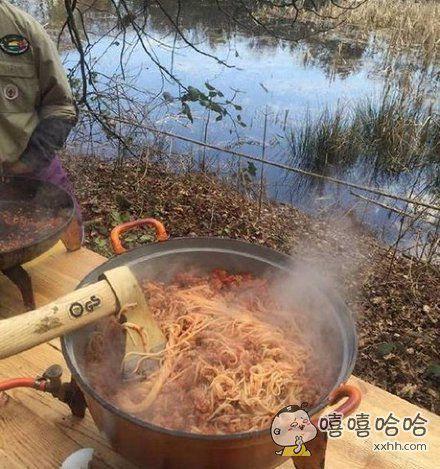 煮锅面而已,要不要这么霸气啊