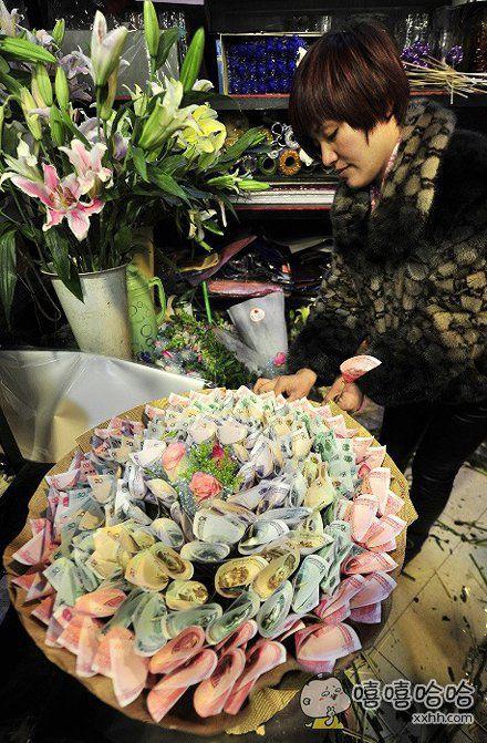 爱我就送我这种花