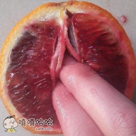 科普下这种颜色的橙子叫血橙