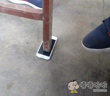 有iPhone手机的人就是这么任性