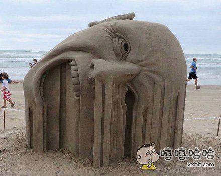 这就是传说中的沙雕。。。