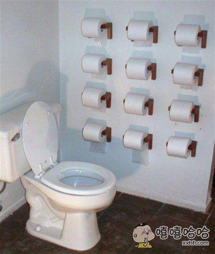 拉稀专用厕所