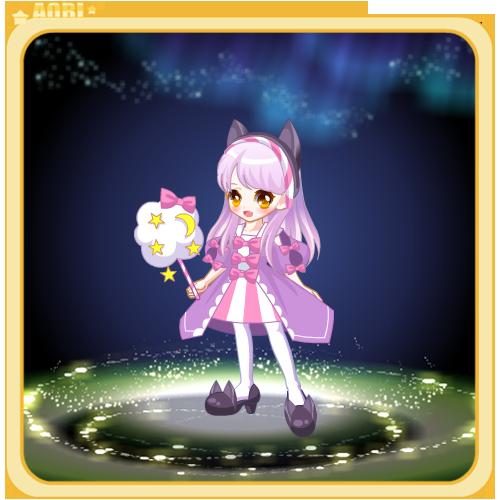 奥比岛棉花糖猫咪装服饰图鉴