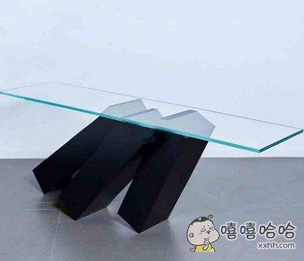 这个桌子让我感到很焦虑。。。