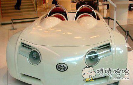 虽然你是概念车,但是也太萌了吧