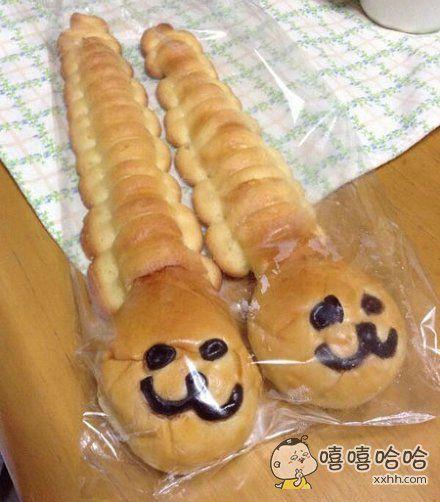 这面包好魔性