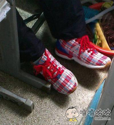 这鞋子有种国际大牌的赶脚