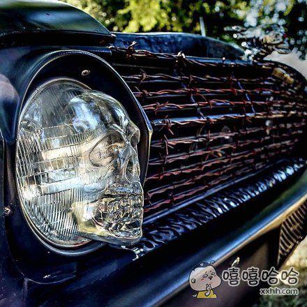 炫酷的车灯