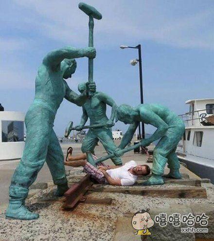 人类为何总和雕像过不去?