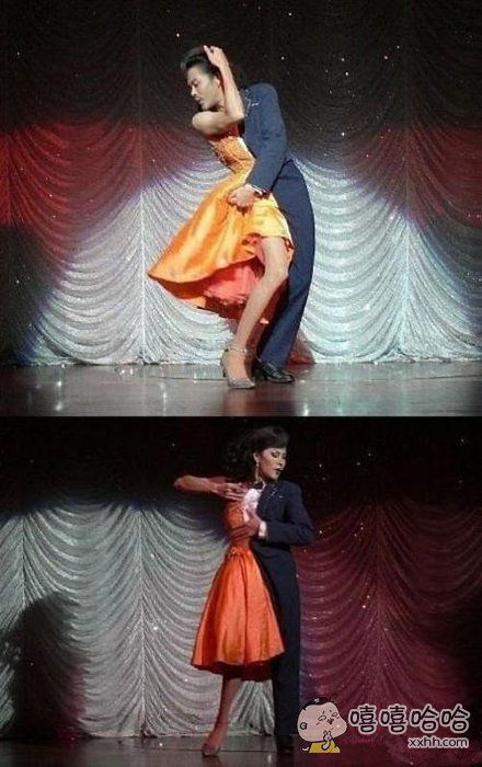 这舞跳的真神了
