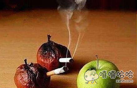 尽量少抽烟吧!看看你的肺!
