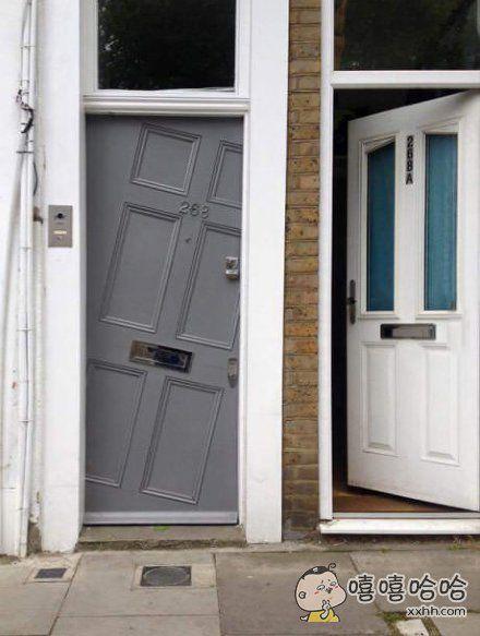 门装的这么任性你邻居知道么