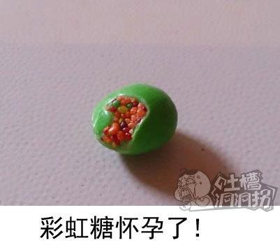 彩虹糖怀孕了