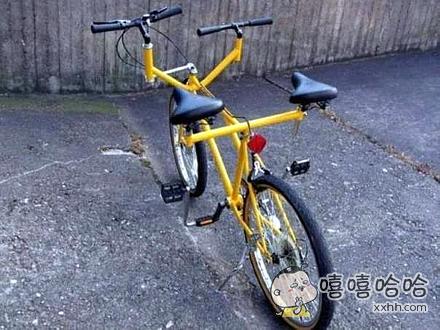 双人自行车~