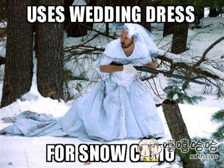 战斗民族的雪地迷彩服