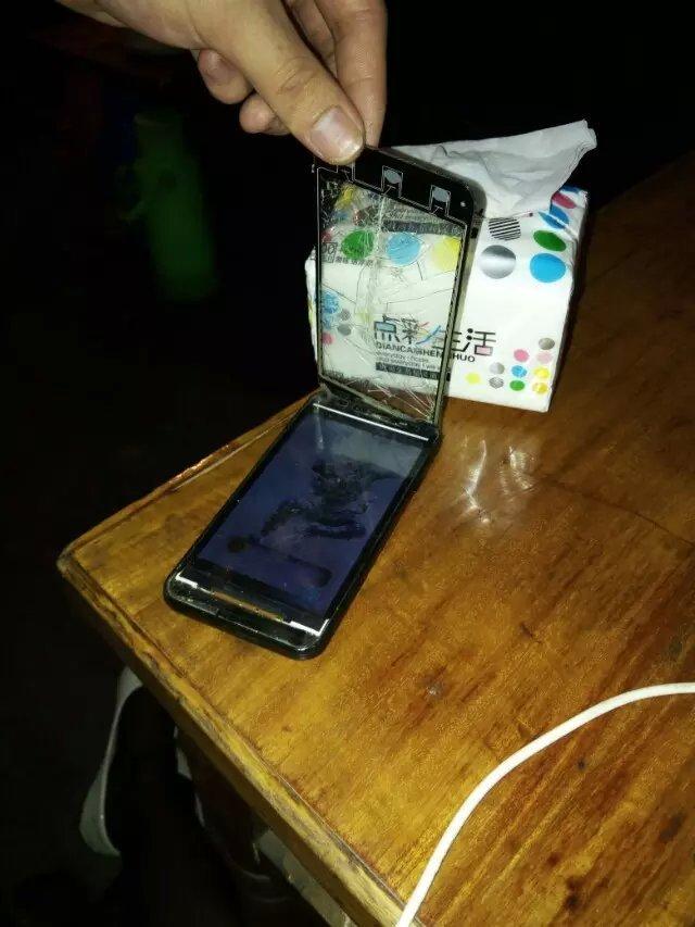 我的翻盖手机