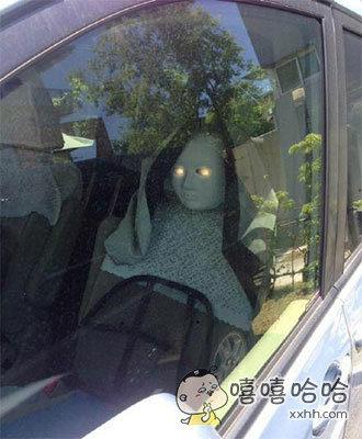 以后偷车贼再也不敢靠近我的车啦!