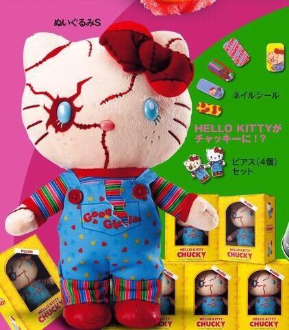 hello kitty官方最新款--鬼娃kitty...我整个人都不对了