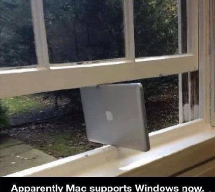 要说的是,现在Mac已经可以完全支持Windows了!!!