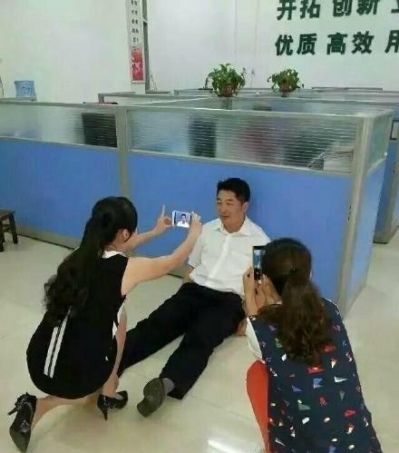 据说单位要拍蓝底证件照!