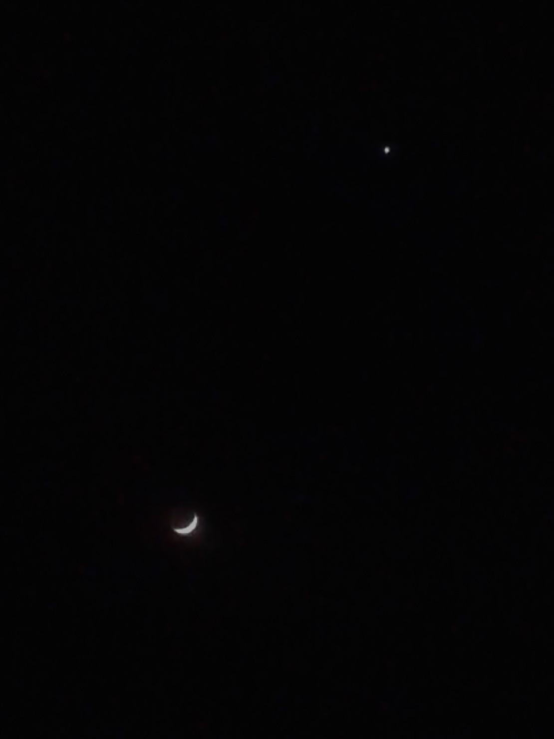 今晚是瞎了的双星伴月