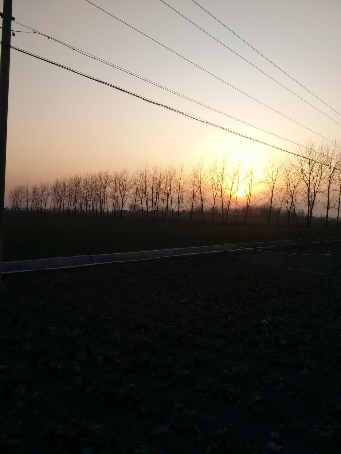 远方的天空