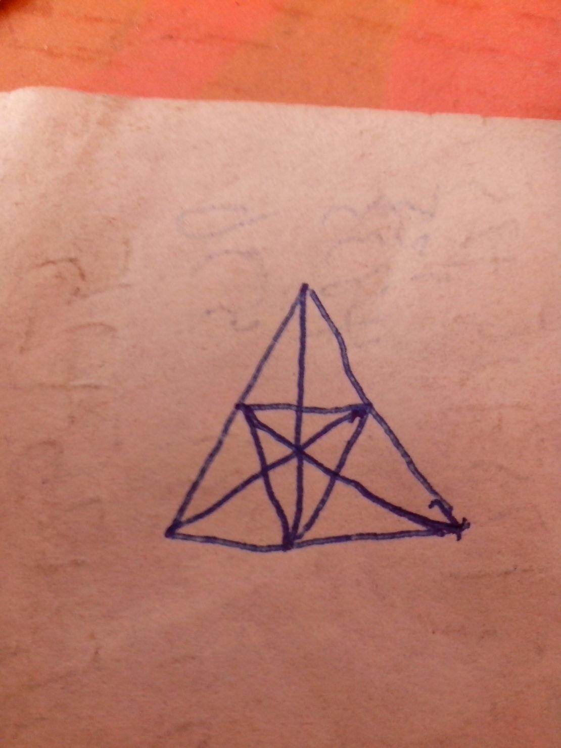 总共有多少个三角形