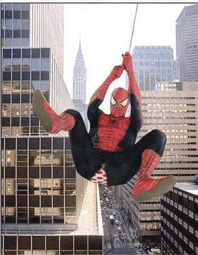 原来蜘蛛侠的内裤这么吊