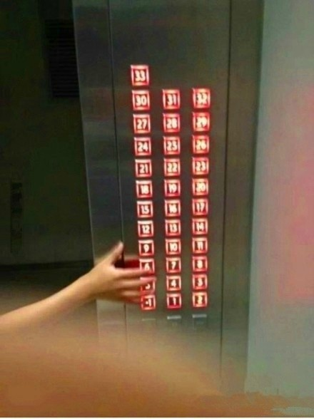 早上坐电梯,突然来了一个熊孩子,我应不应该打他呢!