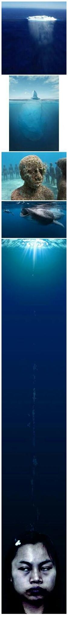 【各种深海恐怖 总有一张让你害怕】