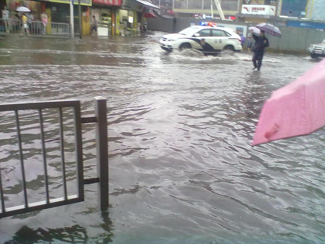 这是洪水吗……