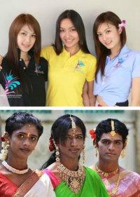 泰国人妖和印度人妖的区别也太大了