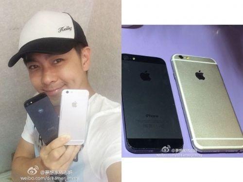 kimi:爸比,你会唱小星星吗?林志颖:不会哦,爸比只会晒iphone6模型机。kimi:不要