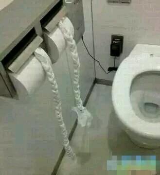 上个厕所无聊死了,有没有艺术感??