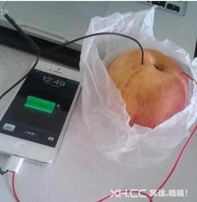 苹果给苹果充电