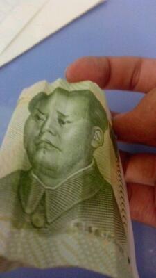 毛主席,你被谁欺负了?,我找他算帐。