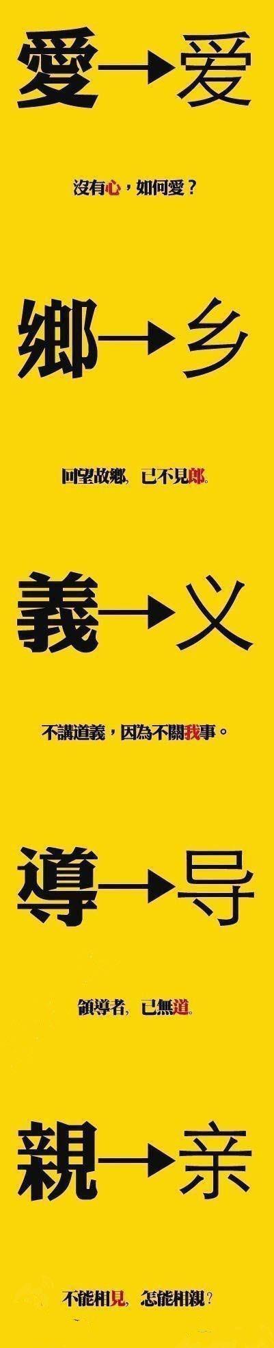 简体字下的中国,到底丢了什么?