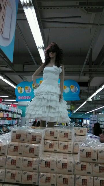 我们也有超强的超市大妈!
