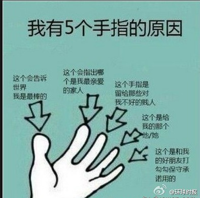 我终于知道为什么我们长五根手指了![