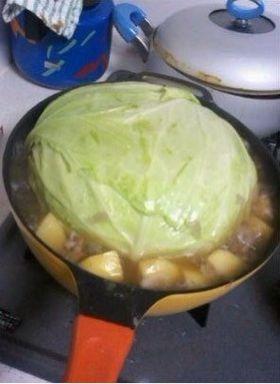 老婆第一次给我煮菜,好感动啊