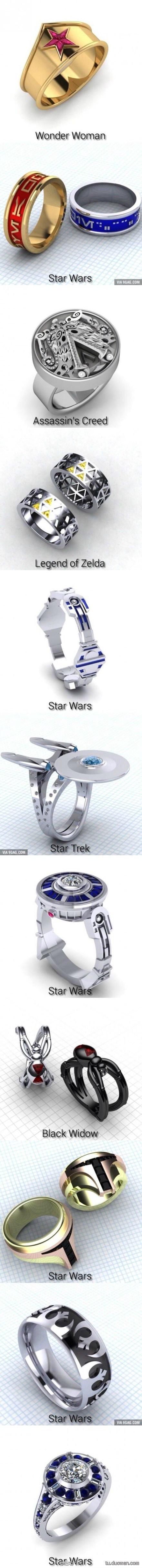 死宅们的结婚戒指 遇见这种技术宅就嫁了吧!