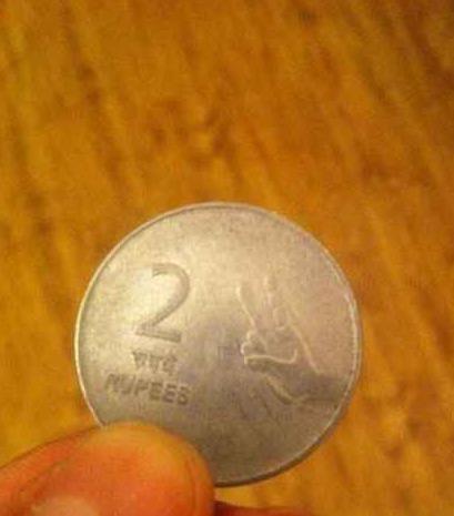 印度的钱太有喜感了!!!2卢比的图案是....