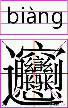 很难找到的 三个金念鑫(xīn) 三个水念淼(miǎo ) 三个火念焱(yàn ) 三个土念垚(yáo ) 三个牛念犇(Bēn) 三个手念掱(pá) 三个目念瞐(mò) 三个田念畾(lěi ) 三个马念骉(biāo) 三个羊念羴(shān ) 三个犬念猋(biāo ) 三个鹿念麤(cū) 三个鱼念鱻(xiān ) 三个贝念赑(bì) 三个力念劦(lie) 三个毛念毳(cuì) 三个耳念聶(niè) 三个车念轟(hōng) 三个直念矗(chù) 三个龙念龘(tà、dá) 三个原念厵(yuán) 三个雷念靐(bìng) 三个飞念飝(fēi) 三个刀念刕(lí) 三个又念叒(ruò) 三个士念壵(zhuàng)三个小念尛(m ó) 三个子念孨(zhuǎn) 三个止念歮(sè) 三个风念飍(xiū) 三个隼念雥(zá) 三个吉念嚞(zhé) 三个言念譶(tà) 三个舌念舙(qì) 三个香念馫(xīn) 三个泉念灥(xún) 三个心念惢(suǒ) 三个白念皛(xiǎo) 【五脏】心、肝、脾、肺、肾 【六腑】胃、胆、三焦、膀胱、大肠、小肠 【七情】喜、怒、哀、乐、爱、恶、欲 【五常】仁、义、礼、智、信 【五伦】君臣、父子、兄弟、夫妇、朋友 【三姑】尼姑、道姑、卦姑 【六婆】牙婆、媒婆、师婆、虔婆、药婆、稳婆 【九属】玄孙、曾孙、孙、子、身、父、祖父、曾祖父、高祖父 【五谷】稻、黍、稷、麦、豆 【中国八大菜系】四川菜、湖南菜、山东菜、江苏菜、浙江菜、广东菜、福建菜、安徽菜 【五毒】石胆、丹砂、雄黄、矾石、慈石 【配药七方】大方、小方、缓方、急方、奇方、偶方、复方 【五彩】青、黄、赤、白、黑 【五音】宫、商、角、徵、羽 【七宝】金、银 、琉璃、珊瑚、砗磲、珍珠、玛瑙 【九宫】正宫、中吕宫、南吕宫、仙吕宫、黄钟宫、大面调、双调、商调、越调 【七大艺术】绘画、音乐、雕塑、戏剧、文学、建筑、电影 【四大名瓷窑】河北的瓷州窑、浙江的龙泉窑、江西的景德镇窑、福建的德化窑 【四大名旦】梅兰芳、程砚秋、尚小云、荀慧生 【六礼】冠、婚、丧、祭、乡饮酒、相见 【六艺】礼、乐、射、御、书、数